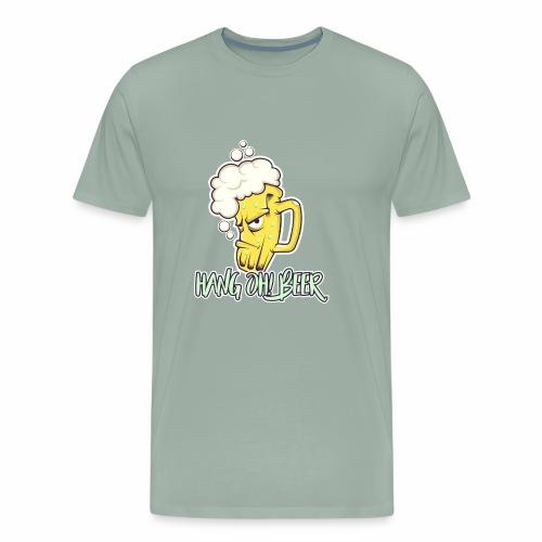 hang Oh! Beer - Men's Premium T-Shirt