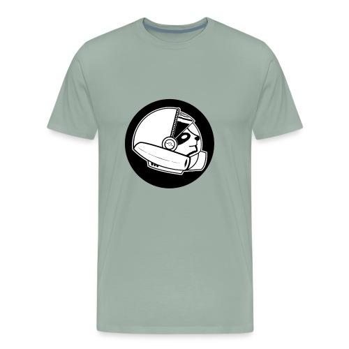 Space Sloth Logo - Men's Premium T-Shirt