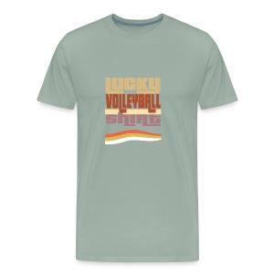 Lucky valleyball tshirt - Men's Premium T-Shirt