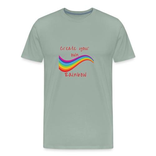 create your own rainbow - Men's Premium T-Shirt