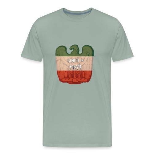 Cinco de Mayo Eagle - Men's Premium T-Shirt