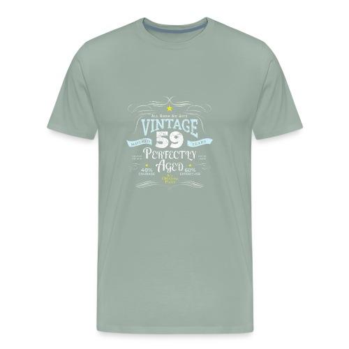 Funny Vintage 59th Birthday Gift - Men's Premium T-Shirt