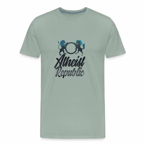 Atheist Republic Italics - Men's Premium T-Shirt