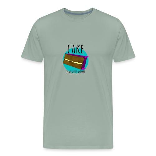 Cake is my Spirit Animal - Men's Premium T-Shirt