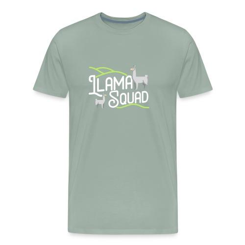 Cute Llama Shirt Llama Squad Tee - Men's Premium T-Shirt