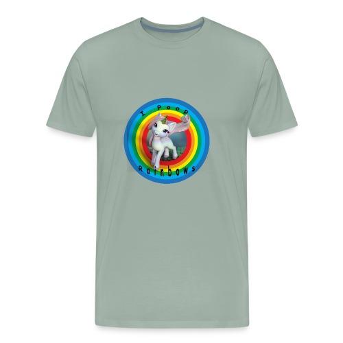I Poop Rainbows - Men's Premium T-Shirt