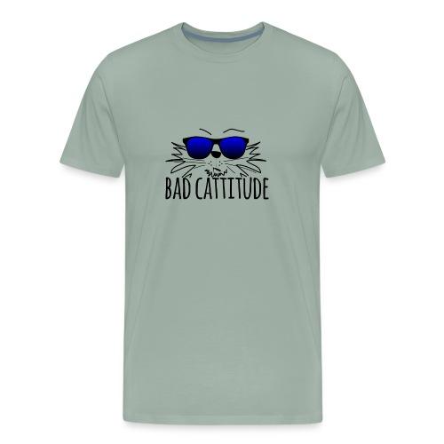 Bad Cattitude - Men's Premium T-Shirt