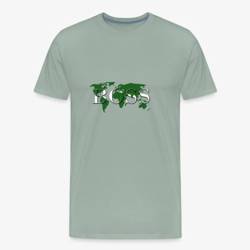 World Boss Premium Design - Men's Premium T-Shirt