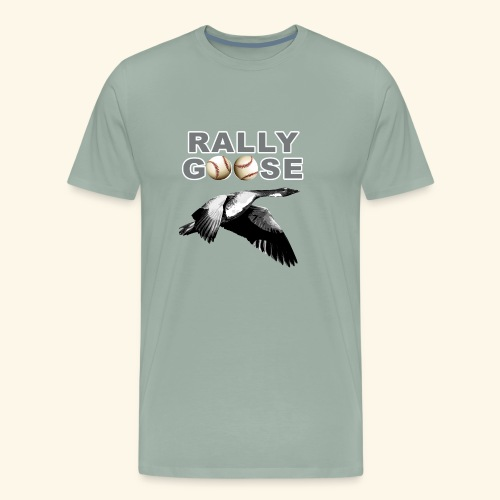 Detroit Rally Goose Baseball Lucky Charm Design - Men's Premium T-Shirt