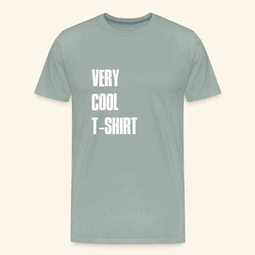 very cool t-shirt - Men's Premium T-Shirt