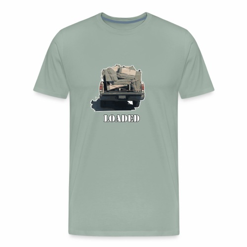 Truck Loaded with Sofa - Men's Premium T-Shirt