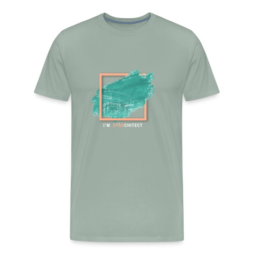 I m Starchitect T-shirt, for ambitious architects - Men's Premium T-Shirt