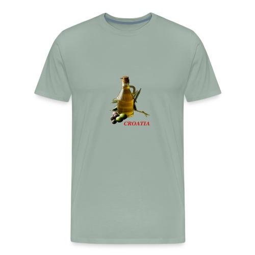Croatian Gourmet 2 - Men's Premium T-Shirt