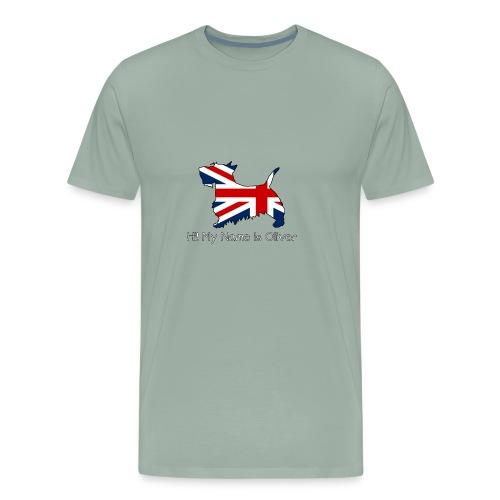 British Scottie - Men's Premium T-Shirt