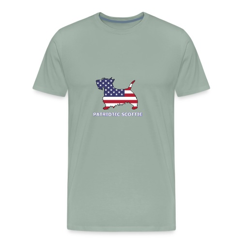 American Scottie - Men's Premium T-Shirt