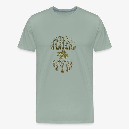 WESTERNSTYLE - Men's Premium T-Shirt