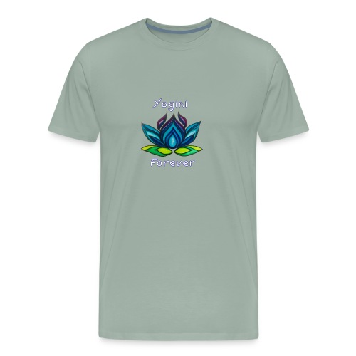 BLY Yoga Studio Logo - Men's Premium T-Shirt