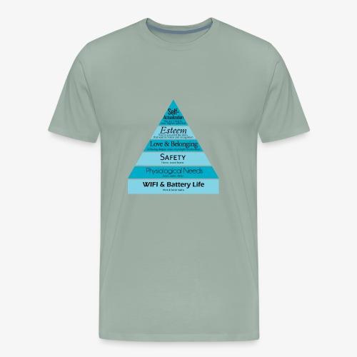 Maslow's Hierarchy - Men's Premium T-Shirt