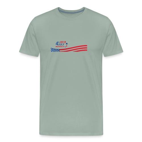 USA Independence Day 2018 - Men's Premium T-Shirt