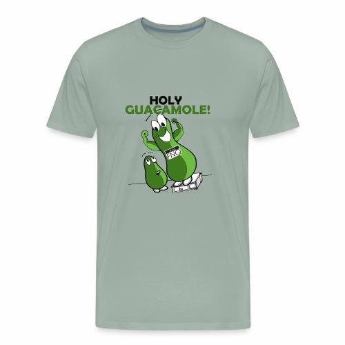 Holy Guacamole Giant Avocado T-shirt - Men's Premium T-Shirt