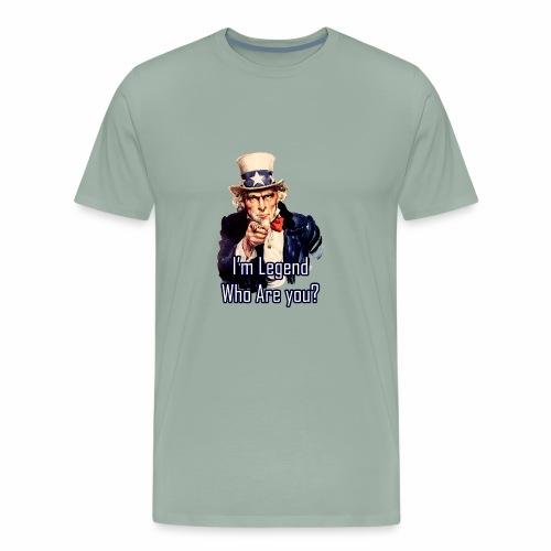 Iam Legend - Men's Premium T-Shirt
