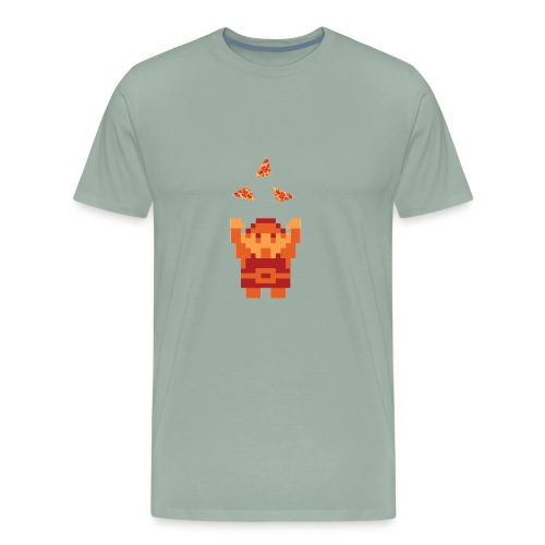 Tri-Pizza - Men's Premium T-Shirt