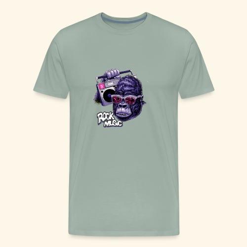 rock music - Men's Premium T-Shirt