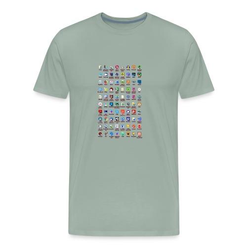 Windows Icons - Men's Premium T-Shirt