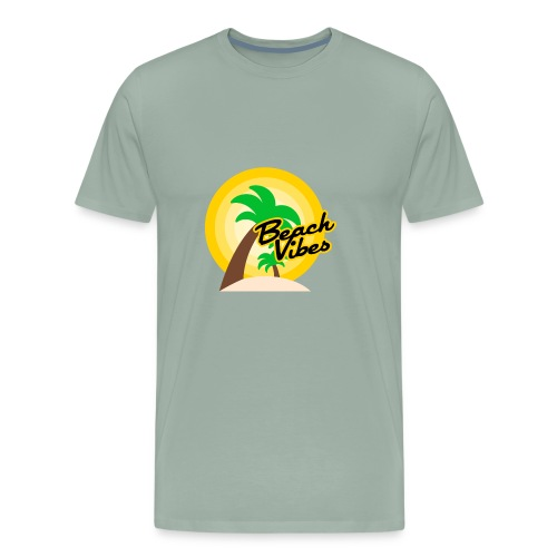 Beach vibes t-shirt summer - Men's Premium T-Shirt