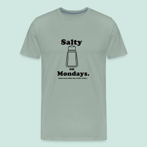 Salty Mondays - Men's Premium T-Shirt