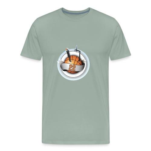 basket ball 22 - Men's Premium T-Shirt