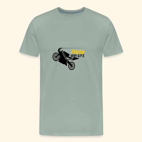 Ride with GPS - Men's Premium T-Shirt