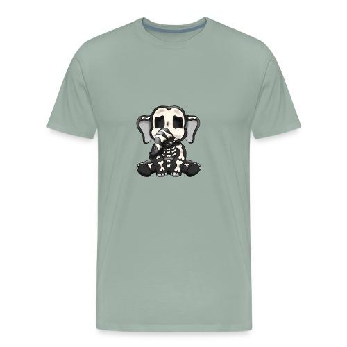 Elephant skeleton - Men's Premium T-Shirt