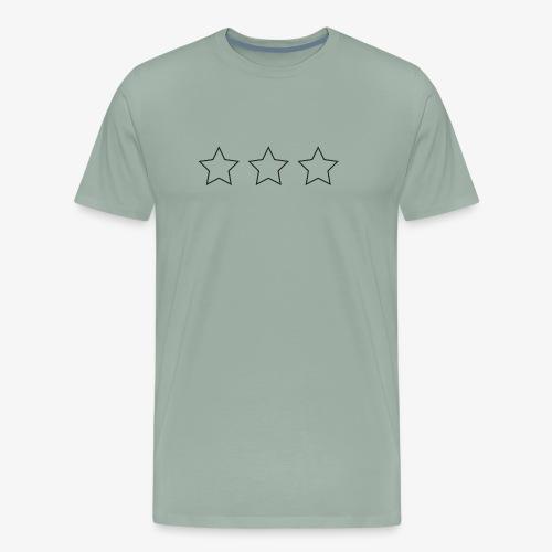 stars on the chest - Men's Premium T-Shirt