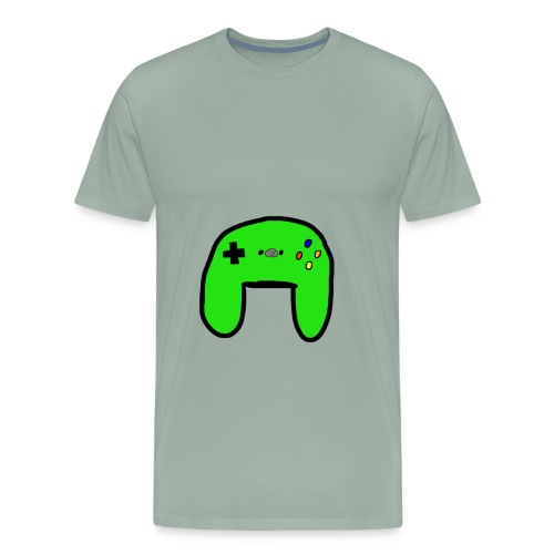 Brock's Game Controller - Men's Premium T-Shirt