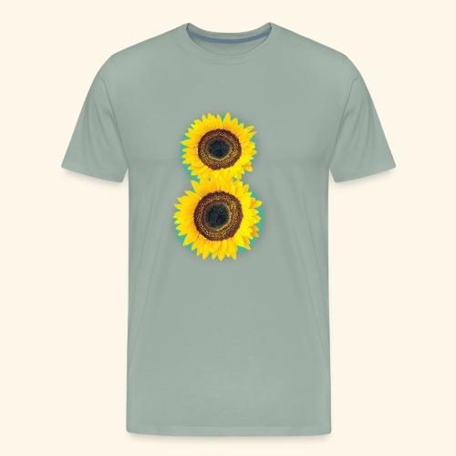 8 Exabytes Sunflower by GVD - Men's Premium T-Shirt