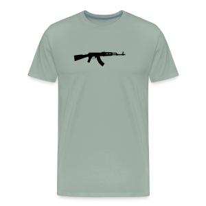ak 47 one gun - Men's Premium T-Shirt