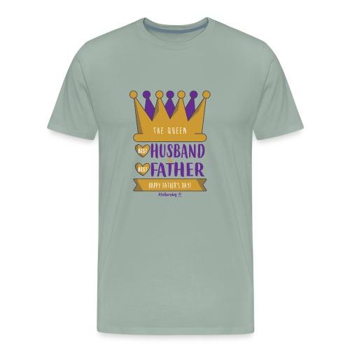 Happy Father's & Husband day T-shirt, Queen Shirt - Men's Premium T-Shirt