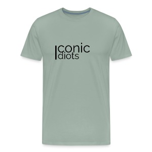 Icon Plain logo - Men's Premium T-Shirt