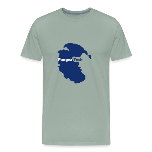 Pangea Tech Logo - Men's Premium T-Shirt