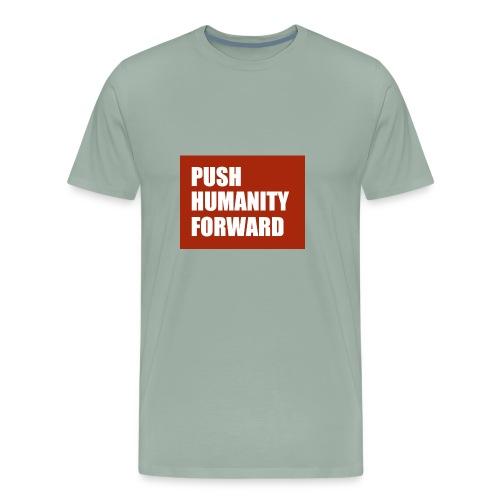 Push Humanity Forward Logo - Men's Premium T-Shirt