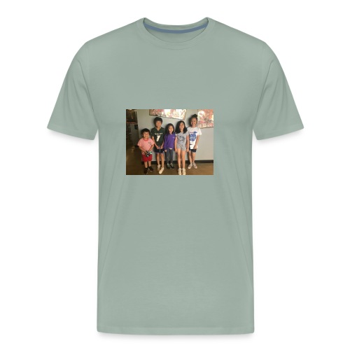 56EF43E5 70CE 4ACC 81CF 7A6B07D4C106 - Men's Premium T-Shirt