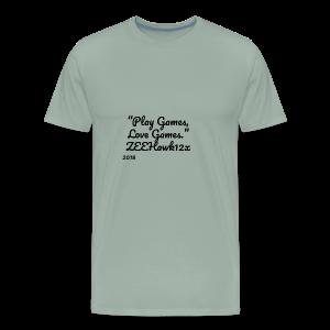 Play Games, Love Games - Men's Premium T-Shirt