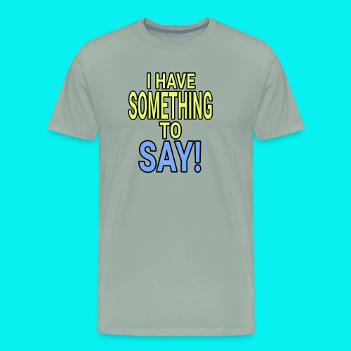 Dave The Cat Big Word tee! STS! - Men's Premium T-Shirt