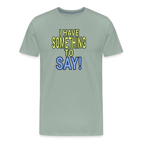 Dave The Cat Big Word tee! STS! - Men's Premium T-Shirt