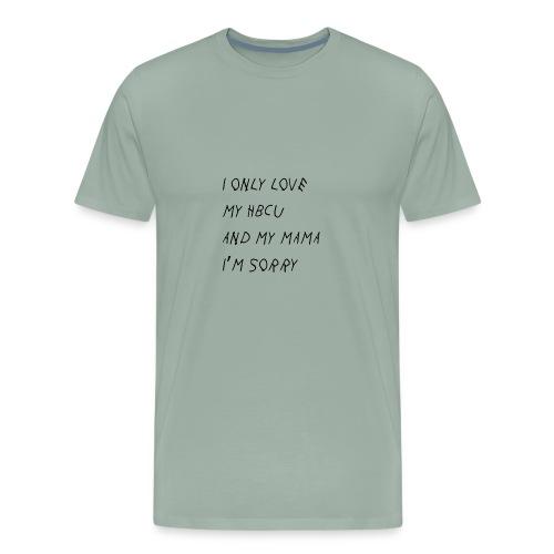 Gods Plan on HBCUs - Men's Premium T-Shirt