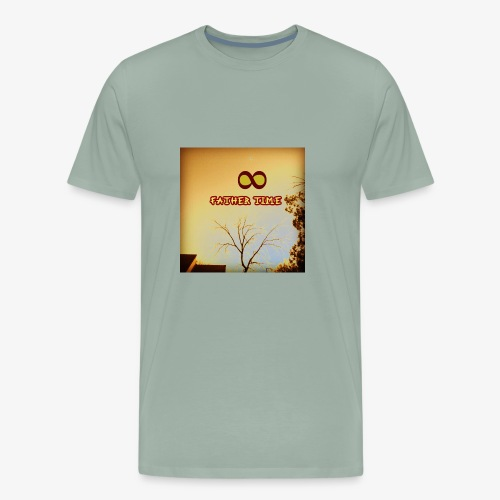 fathertime - Men's Premium T-Shirt