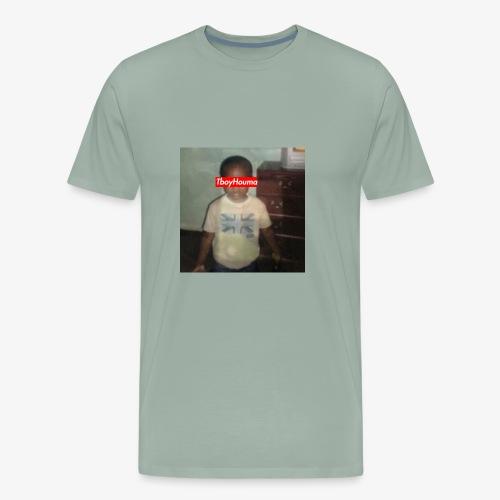 TboyHouma Baby Pic Edit Tee - Men's Premium T-Shirt