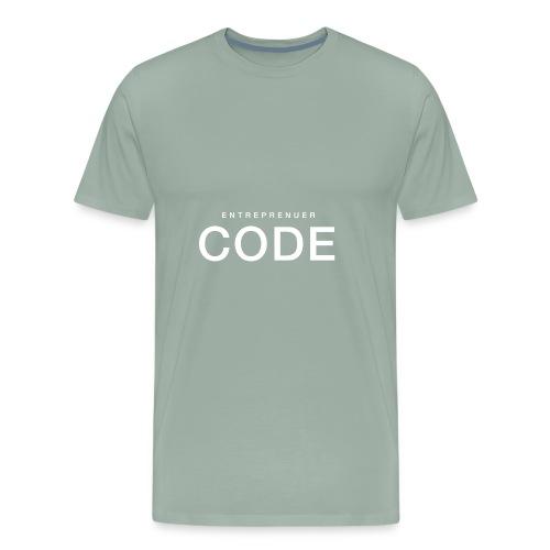 White Shirt PNG - Men's Premium T-Shirt