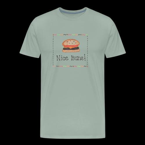 Mrs. Tee: Nice Buns! - Men's Premium T-Shirt